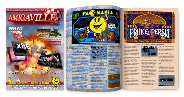 Amigaville Cover